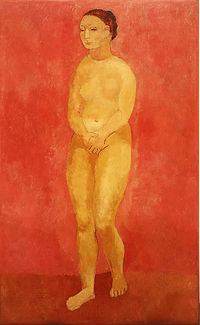 Picasso - Grand nu debout, 1906