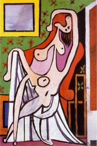 Picasso - Grand nu au fauteuil rouge, 1929
