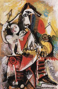 Picasso - Mousquetaire et cupidon, 1969