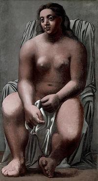 Picasso, La grande baigneuse (1921)