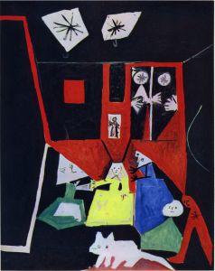 Picasso - Les Ménines Vue d'ensemble d'après Vélasquez, 19 sept 1957