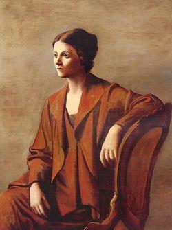 Picasso - Olga, 1923