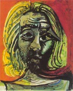 Picasso - Tête d'homme, 1971