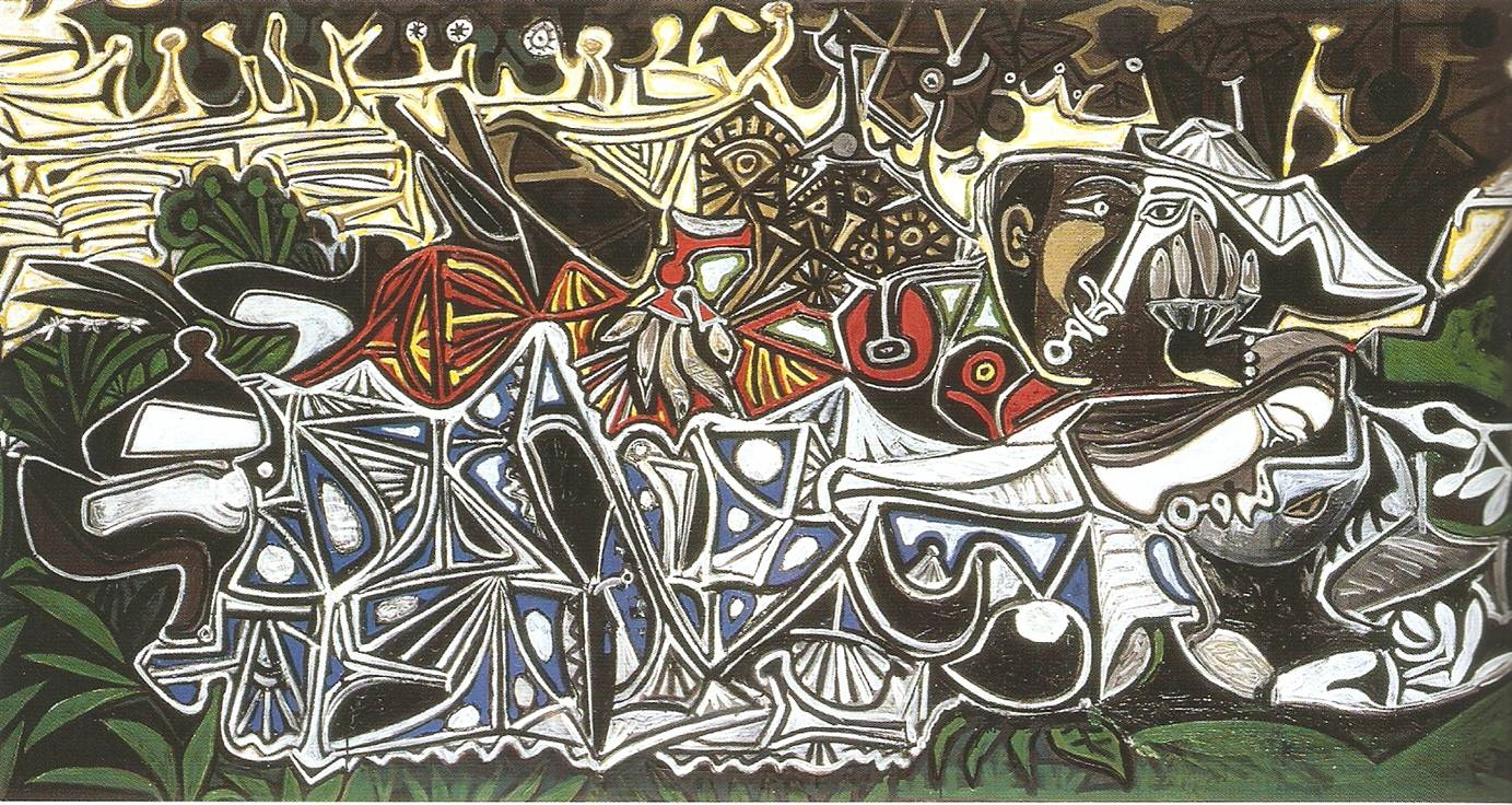 Picasso - Les Demoiselles des bords de la Seine, 1950