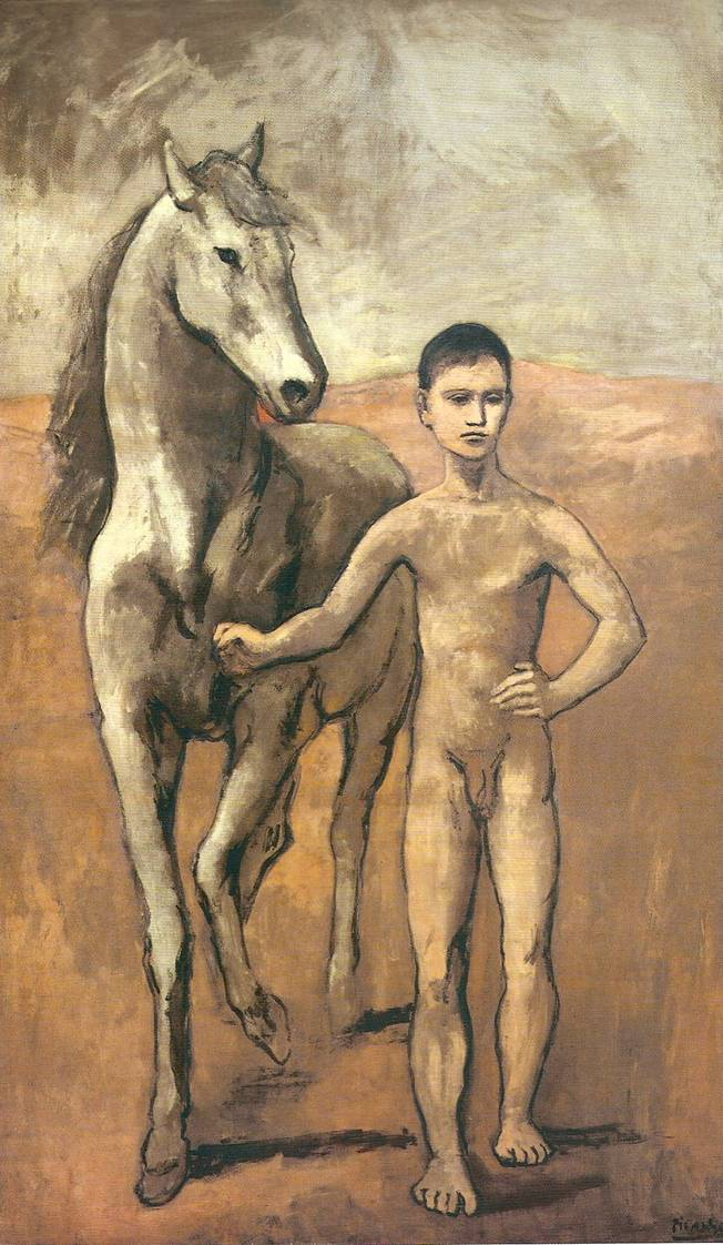 Picasso - Garçon conduisant un cheval, 1905-1906