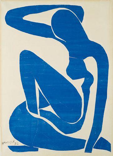 Matisse - Nu bleu I, 1952