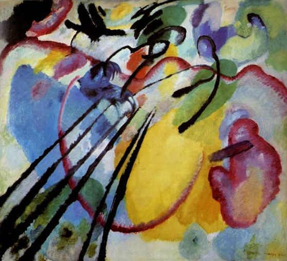 Kandinsky - Improvisation 26 (En ramant), 1912