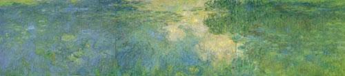 Monet - Le Bassin aux nymphéas, 1917-1920