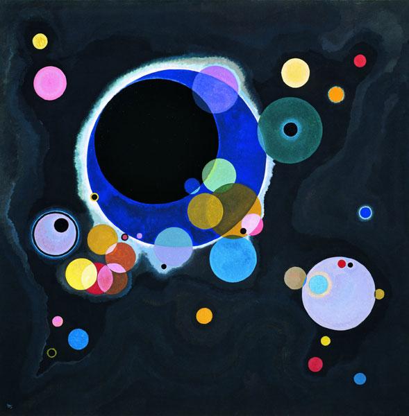 Kandinsky - Quelques cercles, 1926