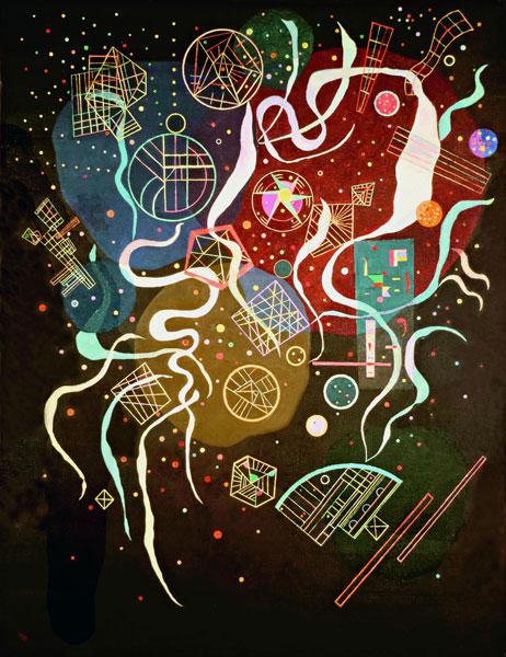 Kandinsky - Mouvement I, 1935