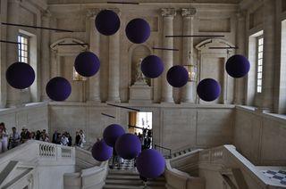 Xavier Veilhan - Versailles 2009, escalier Gabriel