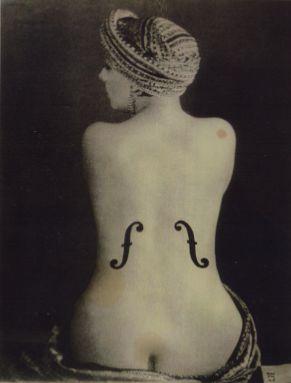 Man Ray - Violon D'Ingres, 1924