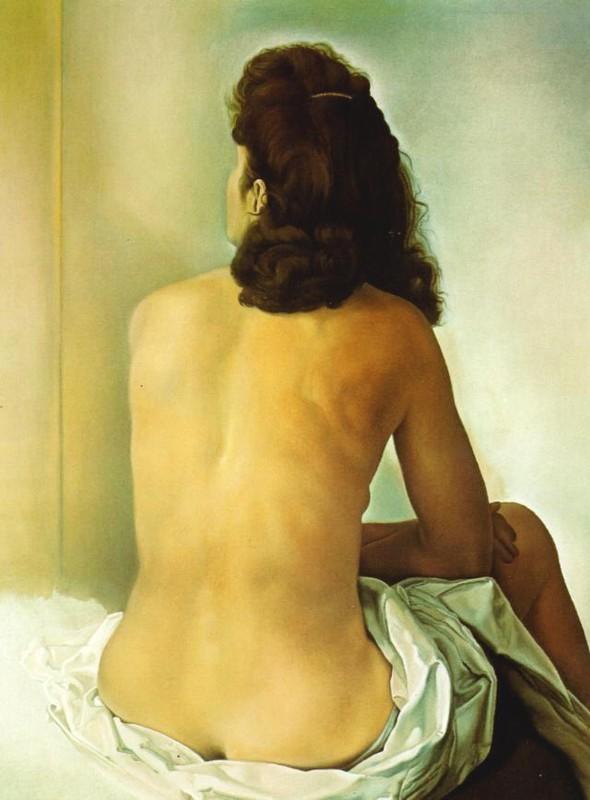 Dali - Dos de femme, 1960