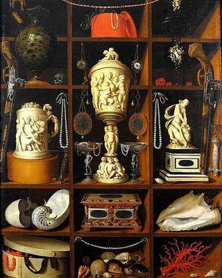 Hinz - Le Cabinet de curiosités, vers 1666