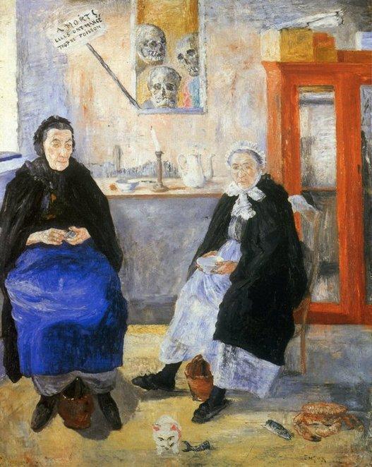 Ensor - Les Poissardes mélancoliques, 1892