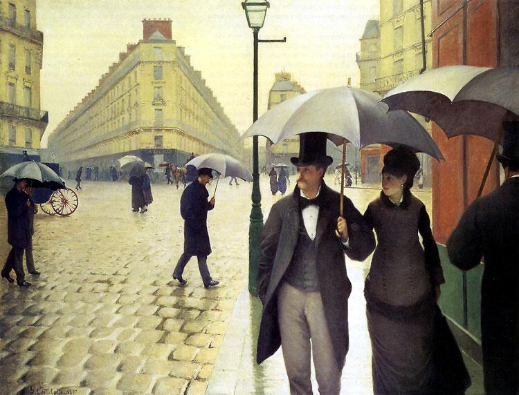 Caillebotte - Jour de pluie, 1877