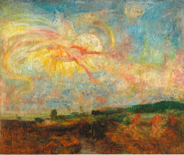 Ensor - Adam et Eve chassés du paradis terrestre, 1887