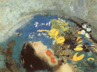Odilon Redon - L'enfant prédestiné dit Ophélie