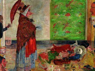 Ensor - L'Etonnement du masque Wouse, 1889