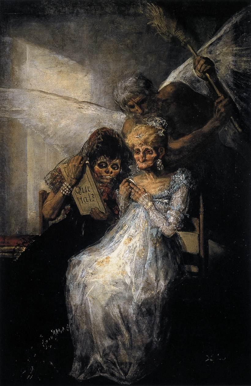 Goya - Les Vieilles ou le Temps, 1808-1812