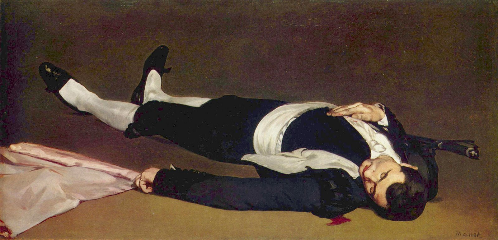Manet - L'homme mort, 1864-1865