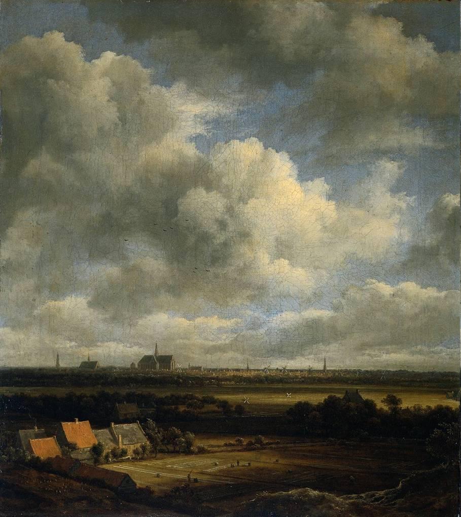 Ruydaels - Vue de Haarlem du nord-ouest, vers 1670