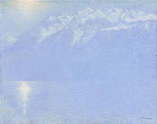 Lévy-Dhurmer - Le Lac Léman, 1925