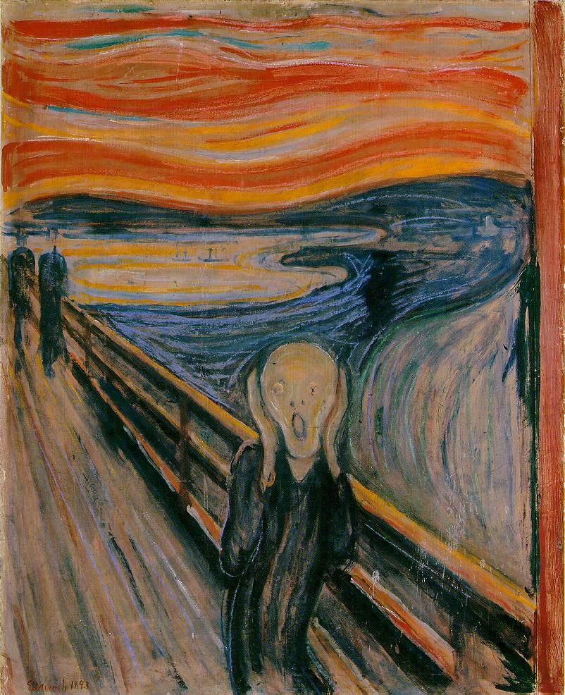 Munch - Le Cri, 1910