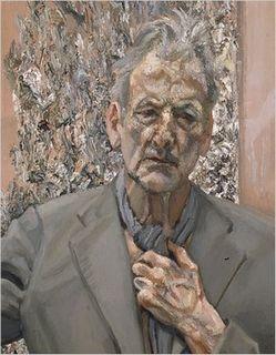 Freud - Self-Portrait, Reflection, 2002
