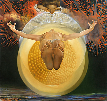 Dali - L'Ascension du Christ, 1958