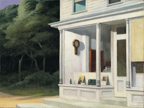 Hopper - Seven A. M. (Sept heures du matin), 1948
