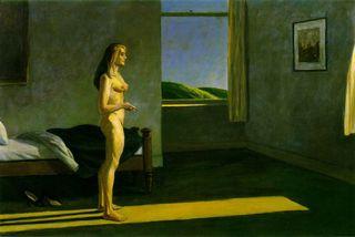Hopper - A Woman in the Sun (Femme au soleil), 1961