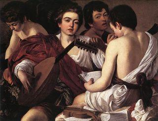 Caravaggio - Les musiciens
