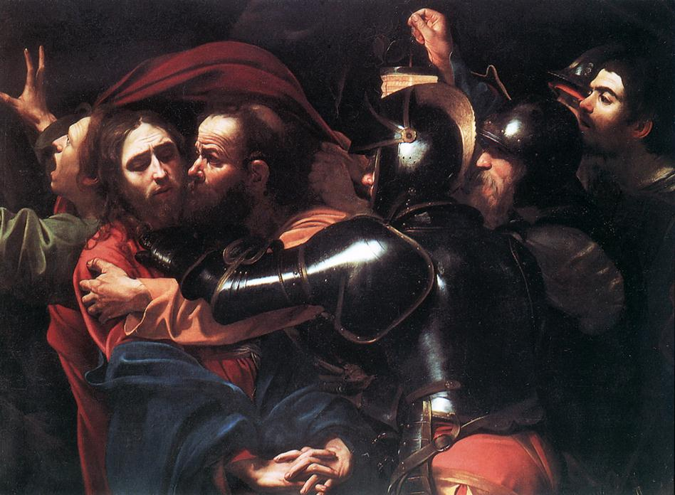 Caravagge - L'arrestation du Christ, 1602