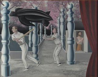 Magritte - Le Joueur secret, 1927