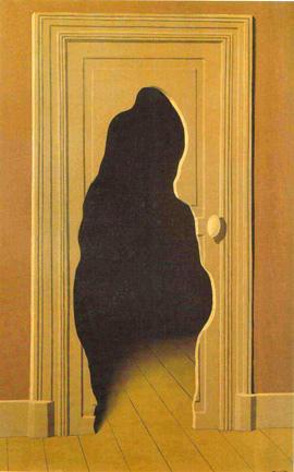 Magritte - La réponse imprévue, 1933