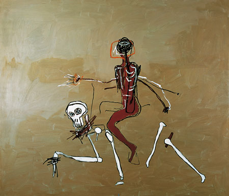 Basquiat - Riding with Death, 1988