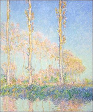 Monet - Peupliers, automne, 1891
