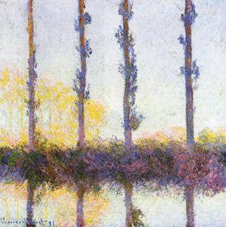 Monet - Les quatres arbres, 1891