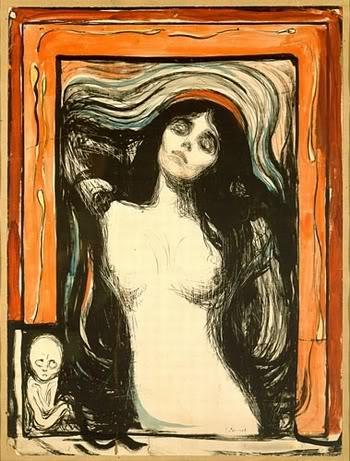 Munch - Madone, 1895