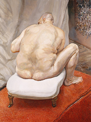 Freud - Nacked Man, Back View, 1991-92