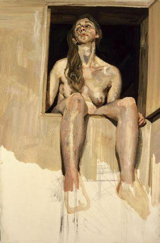 Freud - Girl in Attic Doorway, 1995