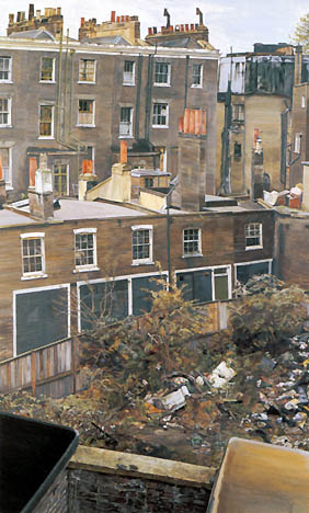 Freud - Wasteground with Houses, Paddington, 1970-72 (Terrain vague avec maisons, Paddington)