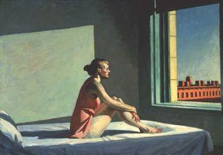 Hopper - Morning Sun (Soleil du matin), 1952