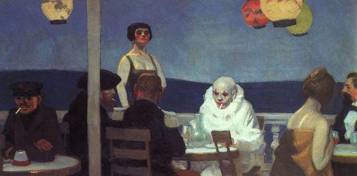 Hopper - Soir bleu, 1914
