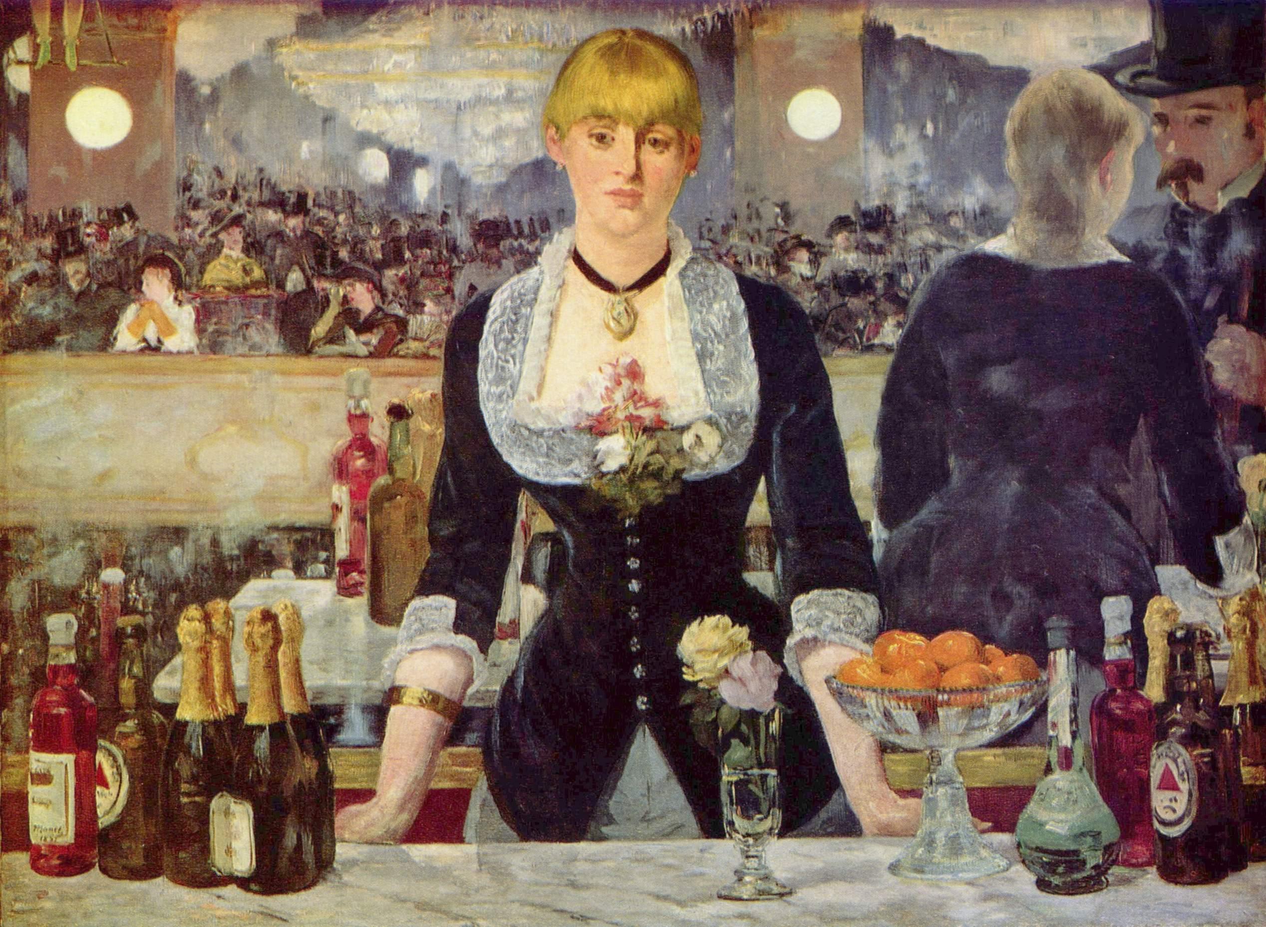 Manet - Un bar aux Folies Bergères, 1890