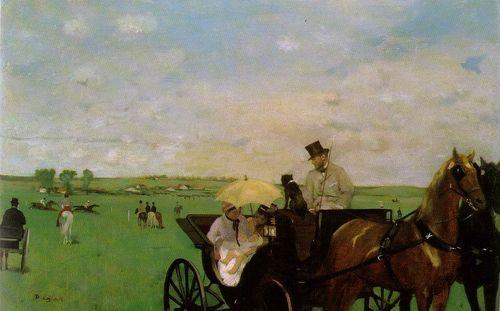 Degas - Aux courses en province, 18