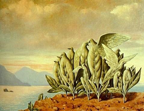 Magritte - L'Ile au trésor, 1942