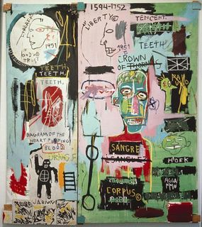 Basquiat - In italian, 1983
