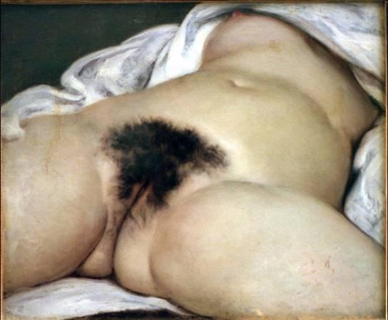 Courbet - L'origine du monde, 1866